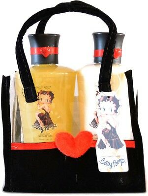 BETTY BOOP Vanilla Bad Geschenkset in Tasche - 2teilig Rockabilly LOTION