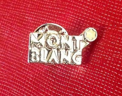 Authentic Montblanc Tie Tack/Lapel Pin~New in Velvet Pouch