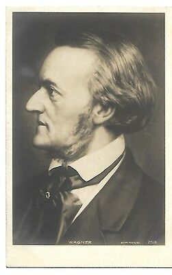 Composer Wagner Real Photo Postcard