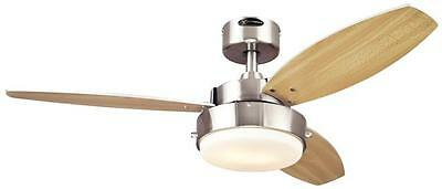 """42"""" Alloy Three Blade Ceiling Fan by Westinghouse Lighting"""