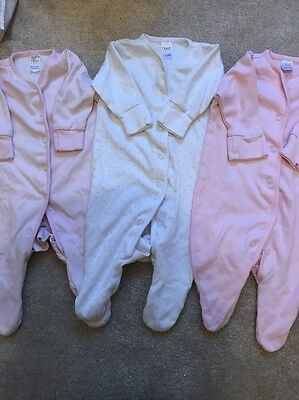 Next Up To 3 Months Sleepsuits