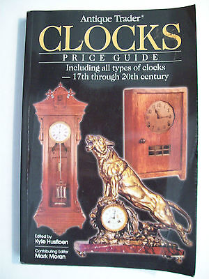 ANTIQUE CLOCKS $$$ ID PRICE GUIDE COLLECTOR'S BOOK RARE All types of Clocks