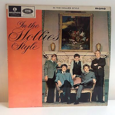 The Hollies~ In The Hollies Style~ Parlophone Uk Mono Lp 1964 2N/2N 1St Press ~