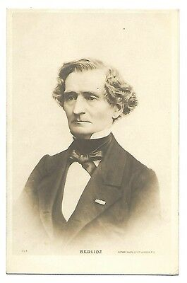 Composer Berlioz Real Photo Postcard