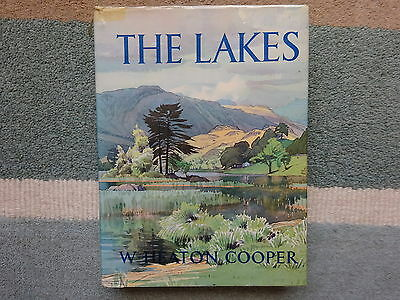 W HEATON COOPER : THE LAKES : HB/DJ 1970  17 Colour Plates & 64 Drawings