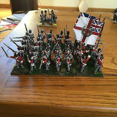 Front Rank 28mm British Line Infantry Battalion (2) - Well Painted