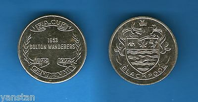 F.A. Cup 1872-1972 centenary coin 1953 Bolton Wanderers Blackpool