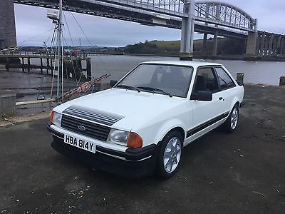 Ford Escort RS1600i LHD mk3, under 63000 miles from new MOT 11/17
