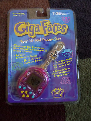 Giga Faces Giga Pet Electronic Pet By Tiger Electronics 1997 - New