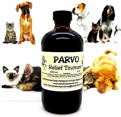 PARVO RELIEF HERBAL TINCTURE FOR DOGS ~ Multiple Sizes