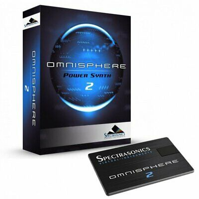 Spectrasonics Omnisphere 2 Boxed + USB Drive Synth Synthesizer Plugin Software