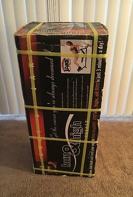 Body by Jake Bun and Thigh Rocker II New In The Box NIB Exercise Equipment