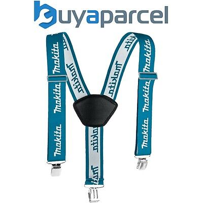 Makita P-72176 Red Clip on Braces Cushioned Pad - Painter Plumber Decorator