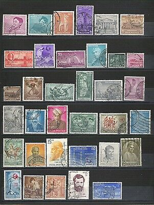 INDE INDIA #3 lot Obl TTB VFpostally used bonne côte