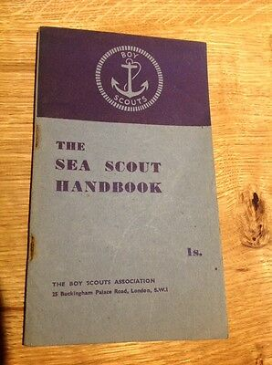 The Sea Scout Handbook Vintage Scout Booklet