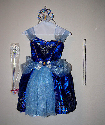 New Disney Princess Cinderella  Deluxe Costume Size 4-6