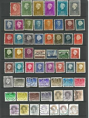 Netherlands Collection 58 Stamps Good to Fine Used