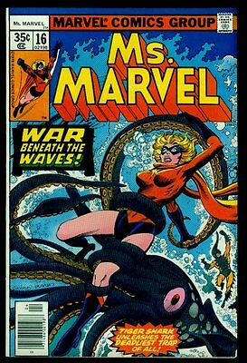 Marvel Comics Ms. MARVEL #16 1st Brief Appearance of Mystique VFN- 7.5