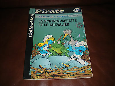 La Schtroumpfette Et Le Chevalier - Edition Originale Pirate Brochee 2001 Inedit