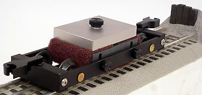 :) O Gauge Track Cleaning Car by Bridge Masters Mint NO Liquids Needed(:  SALE!!