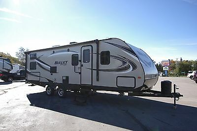 FINAL LAST ONE CLEARANCE 2016 Bullet 274BHS Trailer Bunkhouse 1/2 Ton Tow RV