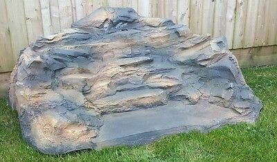 Waterfall Water Feature for Pond Rustic Rockery Slate Design