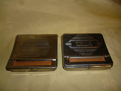 Vintage Rizla Rolling Tin/ Machine Made in France Plus Unbranded One
