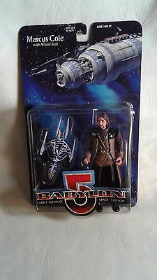 MARCUS COLE & White Star Babylon 5 Premier Collectors Series Figures