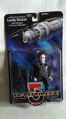 Ambassador Londo Mollari with Transport of Centauri Republic Babylon 5 Figure