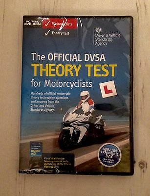 DVSA Motorbike / Motorcycle The Official Theory Test DVD Brand New In Sealed Box