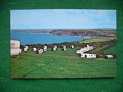 Caravans    Howelston    Little Haven    Pembrokeshire    Vintage Postcard