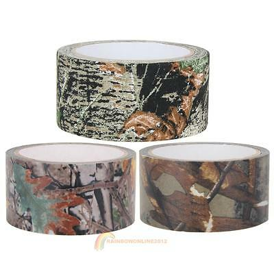 10m Waterproof Camouflage Wrap Gun Outdoor Hunting Camping Camo Stealth Tape New
