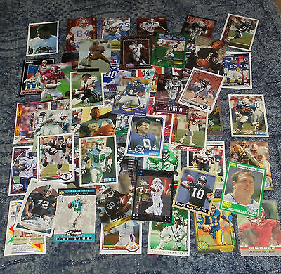 50 American Football  Trading Cards - Mixture . (2)