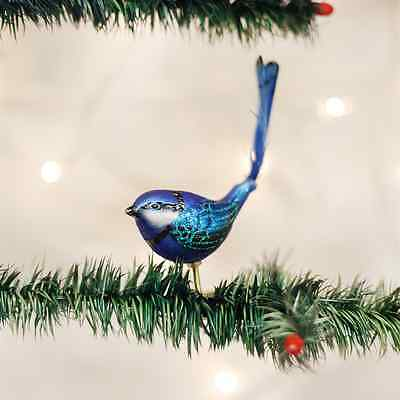 Fairy Wren Old World Christmas Tree Ornament new with tags
