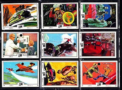 Joe 90 gerry anderson 9 Anglo GUM Cards