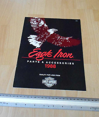 Harley Davidson Eagle Iron Parts & Accessories Catalogue 1988