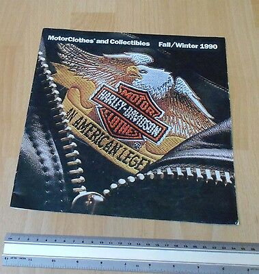 Harley Davidson Fall/Winter 1990 Motor Clothes & Accessories Catalogue