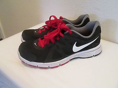 Mens Nike Athletic Sneakers Black/red Size 9.5