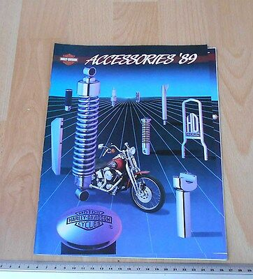 Harley Davidson 1989 Accessories Catalogue