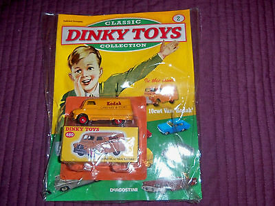 Deagostini  Dinky Toys Collection ISSUE 2 BEDFORD Van Kodak +Mag Not Atlas Dinky