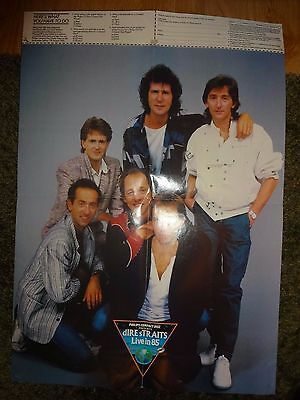 Dire Straits Poster 1985 Philips CD players