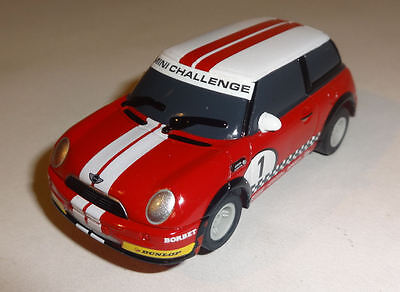 Micro Scalextric Red Mini Challenge #1 - Very Good Condition