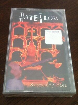 "HATEPLOW ""Everybody dies"" MC/TAPE (NEW/NEU)"
