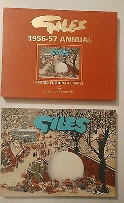 VINTAGE GILES COMIC ANNUAL No 11 1956-57 HUMOUR DAILY EXPRESS
