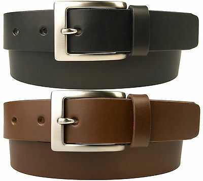 Mens Leather Belt - Made In UK - 30mm Wide