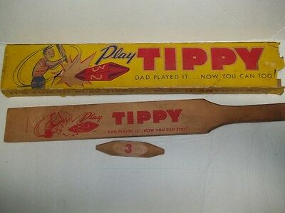 TIPPY By Tippy Toy Corp St Louis MO Vintage 1950s Bin