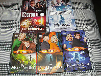 Dr Who Books x 5