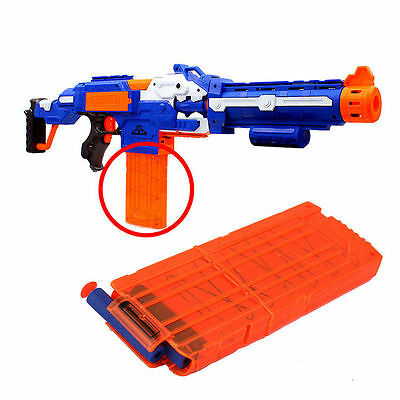 New 1pc Quick Reload Clip System Darts for Toy Gun Nerf N-Strike Blaster Best TS