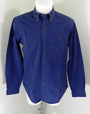 Chemise Polo by Ralph Lauren bleue, taille L