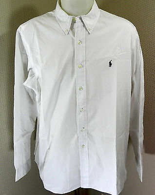 Chemise Polo by Ralph Lauren blanche, taille XXL